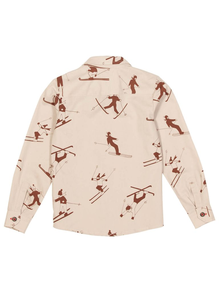 Shirt Skiers Pattern