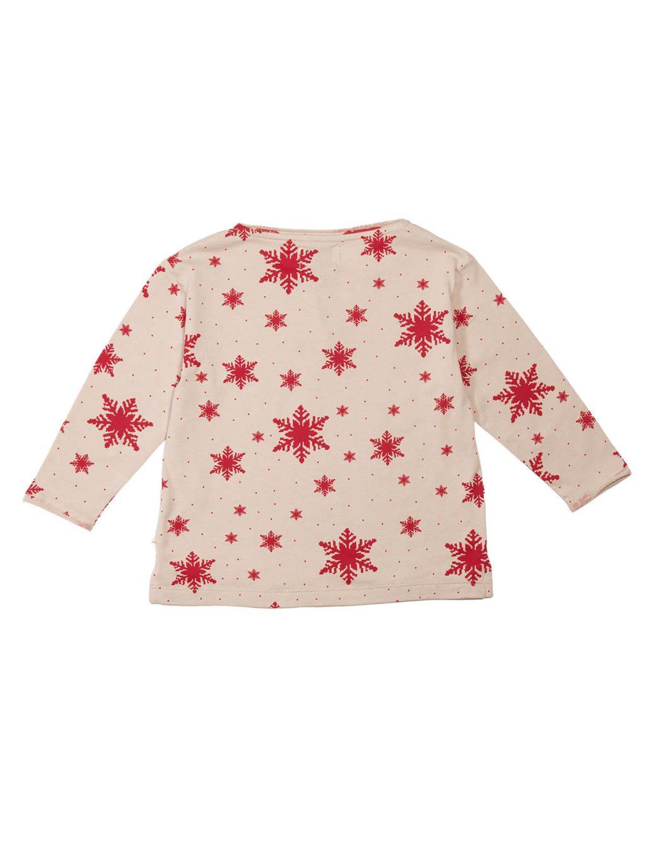 T-shirt Snowflakes Pattern