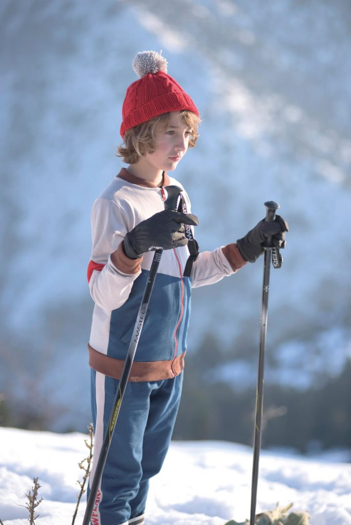 "Jogging pants ""The snowflake"""