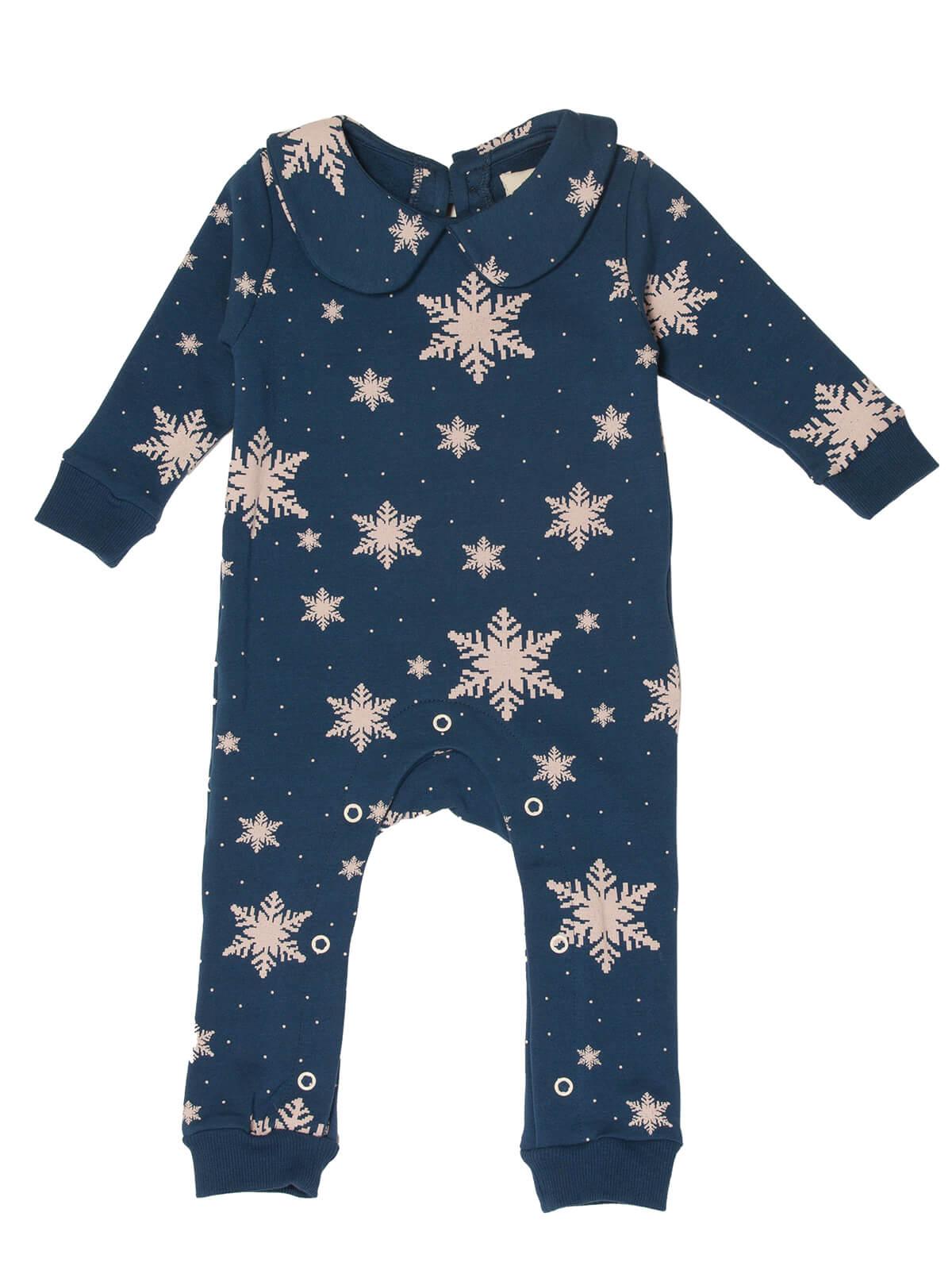 Baby Jumpsuit Snowflakes